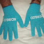 Gloves were given to students during the equipment inspections.