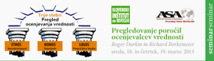 The banner ad on the Slovenian Institute of Auditors website