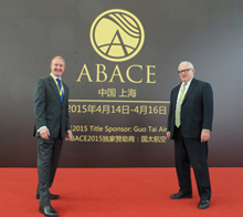 David Crick, ASA and Richard Berkemeier, ASA at the ABACE event in Shanghai, China.