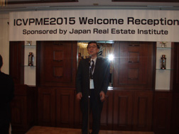 Kazuo Wakaama, who is in charge of JaSIA. He was the host of ICVPME.