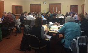 Students during ASA's onsite training course in Salem, OR for County and State Analysts of the Oregon Department of Revenue (ODR).