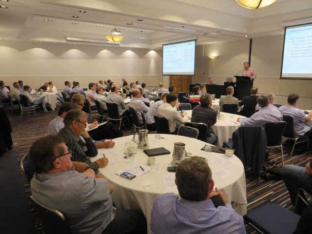 Attendees of Australia's Equipment ID Seminar during one of the sessions.