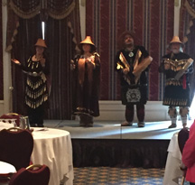 The conference's Sacred Closing Ceremonies with a performance by Spakwus Slolem.