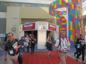 The exhibit entrance of the 2016 AAM MuseumExpo