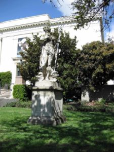 75 x 100Statue_in_front_of_the_Huntington_Library_building