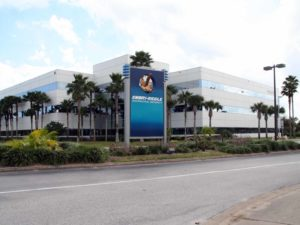 Entrance of Embry-Riddle