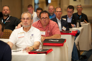 Attendees Listening to Presentations at IAC/BV